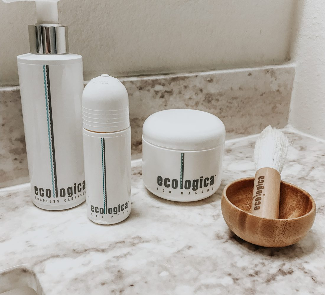 Eco Masque and Peel At home